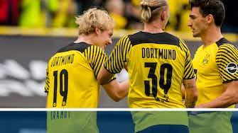 Vorschaubild für Fakten-Report: Dortmund siegt knapp gegen Augsburg