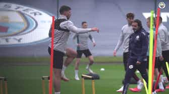 Image d'aperçu pour Manchester City prépare le match de Burnley