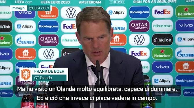 """Anteprima immagine per De Boer : """"È l'Olanda che voglio. Tranne che per i due gol"""""""