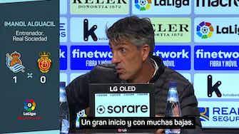 """Imagen de vista previa para Imanol Alguacil: """"Hay que darle mucho mérito a estos 20 puntos"""""""
