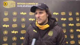 """Imagen de vista previa para Forlán: """"Me había tocado jugar sin público, pero como algo puntual"""""""