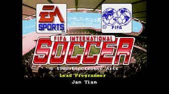 Imagen de vista previa para Los gráficos del primer FIFA de la historia