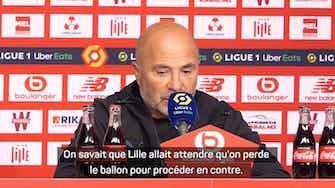 """Image d'aperçu pour OM - Sampaoli : """"Nous avons perdu trop de ballons"""""""