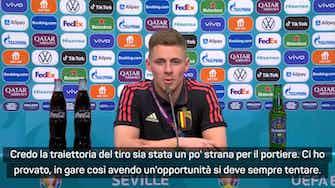 """Anteprima immagine per Thorgan Hazard: """"È stato il gol più importante della mia carriera"""""""