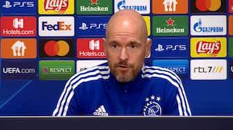 """Vorschaubild für  Ajax-Trainer ten Hag: """"Dortmund ist nicht nur Haaland"""""""