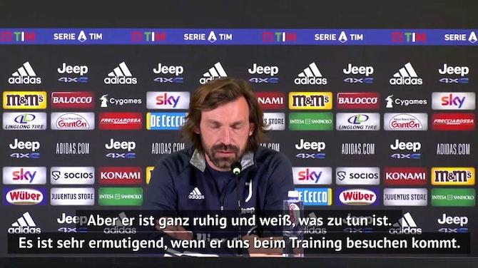 """Vorschaubild für Pirlo sieht mögliche UEFA-Strafe """"gelassen"""""""