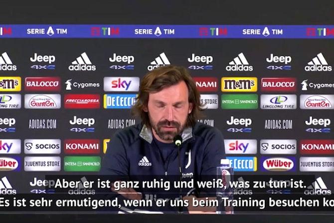 """Pirlo sieht mögliche UEFA-Strafe """"gelassen"""""""