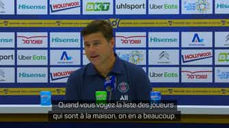 """Image d'aperçu pour PSG - Pochettino : """"On méritait la victoire"""""""