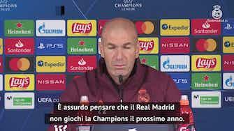 """Anteprima immagine per Zidane, dagli arbitri alla UEFA: """"Ho sentito cose assurde"""""""