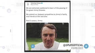 Preview image for Socialeyesed - Football world reacts to death of Jimmy Greaves