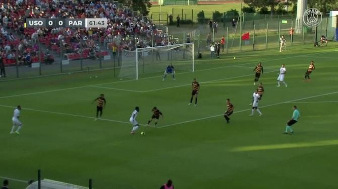 Anteprima immagine per Il gol di Hakimi lancia il PSG contro l'US Orleans