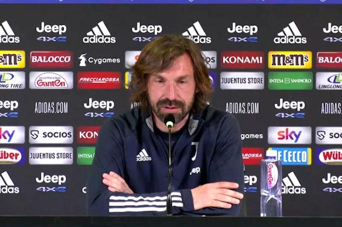 """Pirlo: """"Col Milan gara aperta, complimenti alle Women per il quarto scudetto"""""""