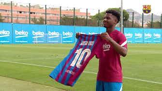 Anteprima immagine per Ansu Fati vestirà la maglia numero 10