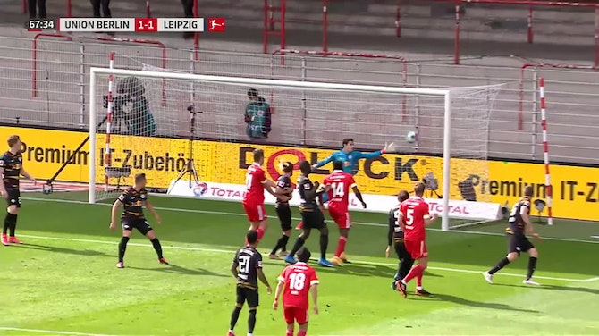 Marvin Friedrich with a Spectacular Goal vs. RB Leipzig