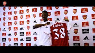 Preview image for The best of Balogun in the Arsenal academy