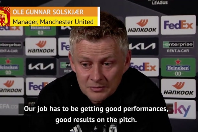 Old Trafford protest a 'difficult day' for Man United - Solskjaer