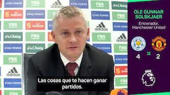 """Imagen de vista previa para Solskjaer: """"De Gea fue el mejor aún encajando 4 goles"""""""