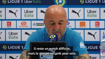"""Image d'aperçu pour 37e j. - Sampaoli : """"Donner au club la place qu'il mérite"""""""