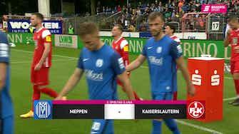 Vorschaubild für SV Meppen - 1. FC Kaiserslautern (Highlights)