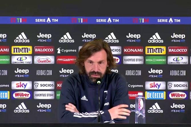 "Pirlo: ""Con l'Udinese partita importante"""