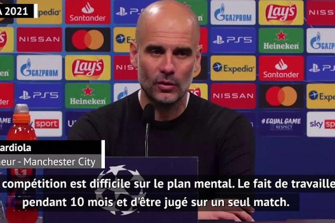 """Quarts - Guardiola : """"Une qualification très importante pour le club"""""""