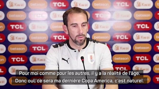 """Uruguay - Diego Godín : """"Oui, ce sera la dernière Copa America"""""""
