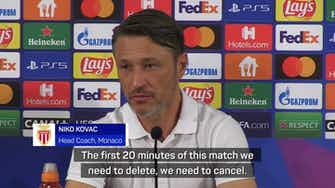 Preview image for Kovac not giving up after disappointing defeat