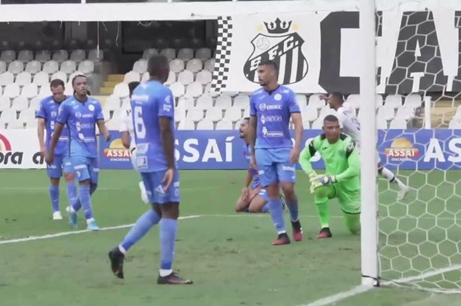 Lucas Braga and Kaio Jorge's goals against São Bento