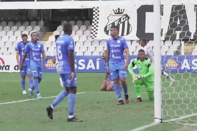 Lucas Braga and Kaio Jorge's goals against São Bento