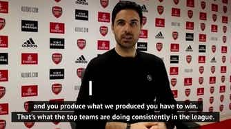 Preview image for Arteta laments 'inconsistent' Arsenal as Gunners drop points again