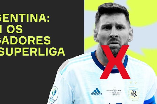 Argentina sem MESSI ou DYBALA? Como fica a SELEÇÃO ARGENTINA?