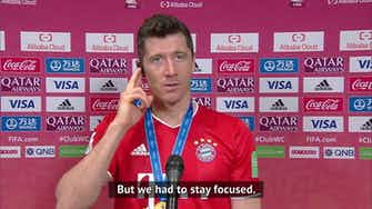 Preview image for Lewandowski, Kimmich dedicate Club World Cup title to self-isolating Muller