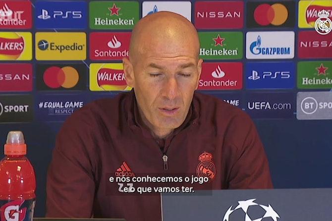 """Zidane projeta semifinal e elogia seu elenco: """"São os melhores"""""""