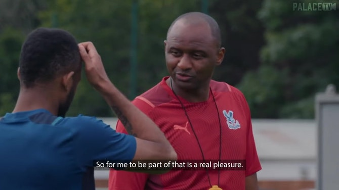 Preview image for New Crystal Palace manager Vieira: 'I want us to score more goals'