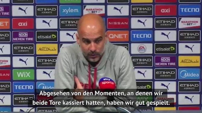 Guardiola: Wollten die Premier League gewinnen