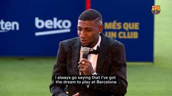 Preview image for Emerson Royal committed to giving his all for Barça