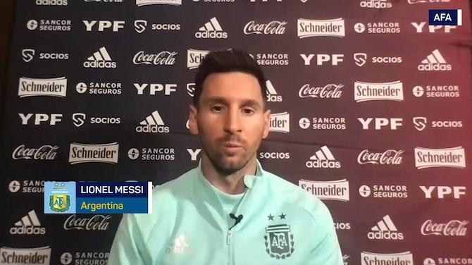 """Imagen de vista previa para Messi: """"Es momento de dar el golpe en esta Copa"""""""