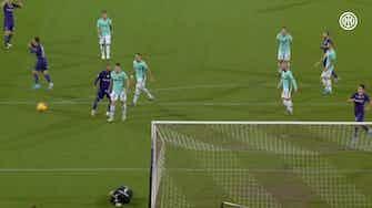 Anteprima immagine per Lo strepitoso salvataggio di Samir Handanović contro la Fiorentina