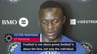 Preview image for 'That's not football' - Wanyama on European Super League plans