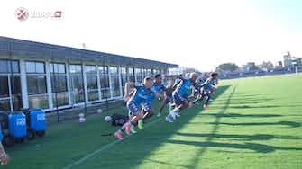 Preview image for Vasco training session at Almirante's training centre