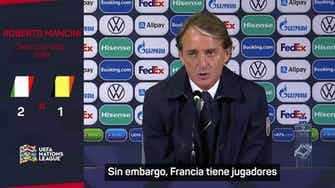 """Imagen de vista previa para Mancini: """"¿Favorita? España me gusta mucho"""""""