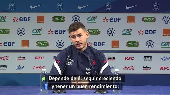 """Lucas Hernández: """"Theo ha tenido más dificultades en el Real Madrid y la Real Sociedad"""""""
