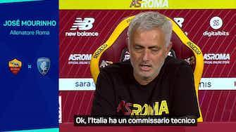 """Anteprima immagine per  Zaniolo e Mancini non convocati in nazionale, Mourinho: """"Con noi sono protetti"""""""