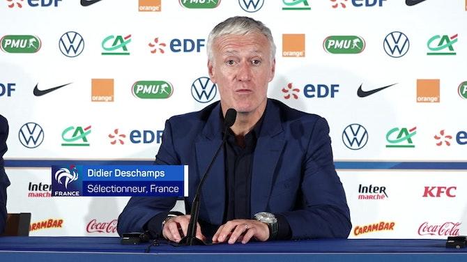 "Bleus - Deschamps : ""Giroud, un mental à toute épreuve"""