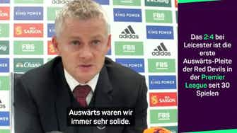 """Vorschaubild für Solskjaer: United """"hätte Sieg nicht verdient"""""""