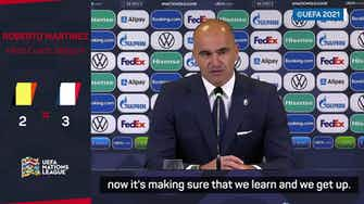 Preview image for Martinez vows Belgium will bounce back in search for silverware