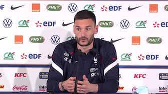 """Image d'aperçu pour Bleus - Lloris : """"Tout le monde aura envie de battre l'équipe de France"""""""
