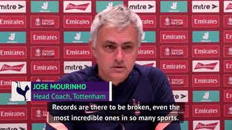 Preview image for 'Very difficult' for Chelsea unbeaten record to be broken - Mourinho