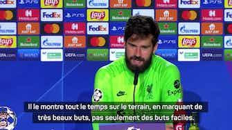 """Image d'aperçu pour Groupe B - Alisson : """"Salah, c'est un attaquant qui a faim"""""""