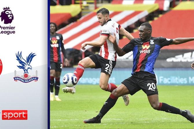 Benteke trifft nach 70 Sekunden!   Highlights: Sheffield – Crystal Palace 0:2